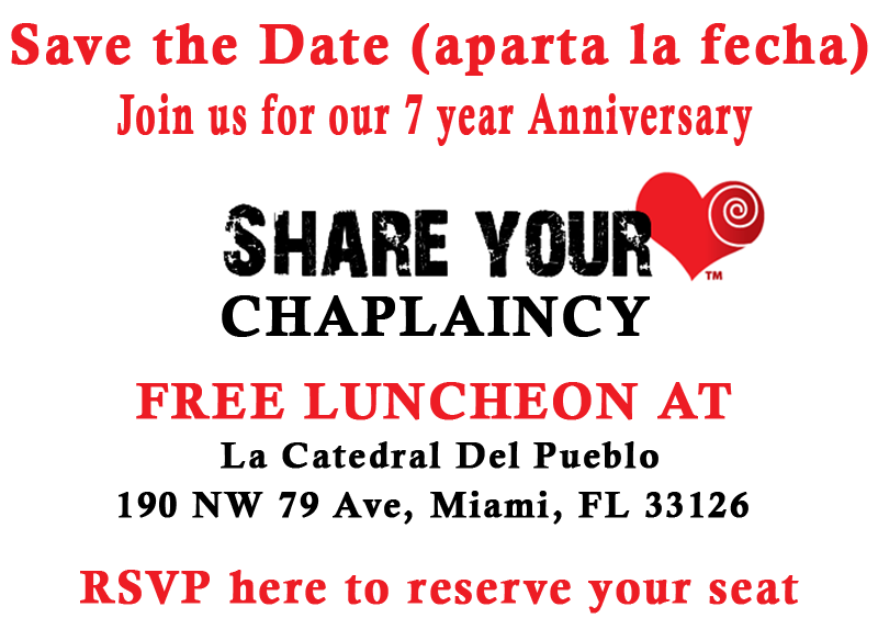 Save the Date Luncheon
