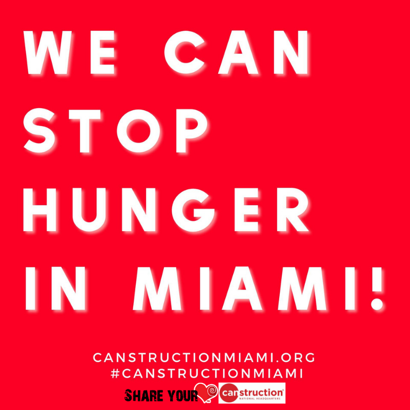 We can stop hunger